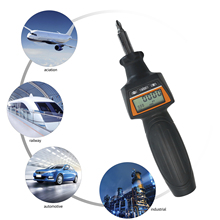 Torque-Screwdriver Professional Interchangeable-Head Cordless Mini with Buzzer And LED