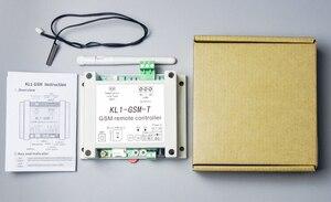 Image 4 - App Afstandsbediening Gsm Schakelaar KL1 GSM T Met Temperatuur Sensor Ondersteunt 10A Uitgang, 1 Temperatuur Detectie, 6 Groepen Controle