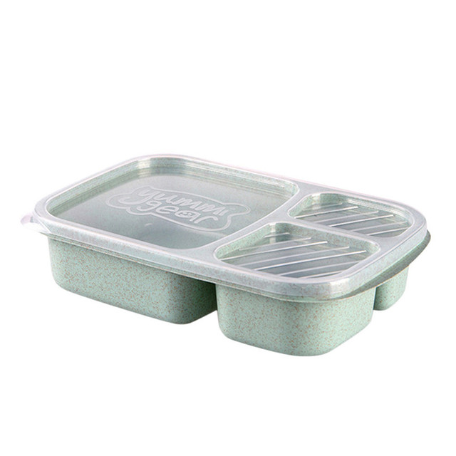 Large 3 Compartment Korean Lunchbox