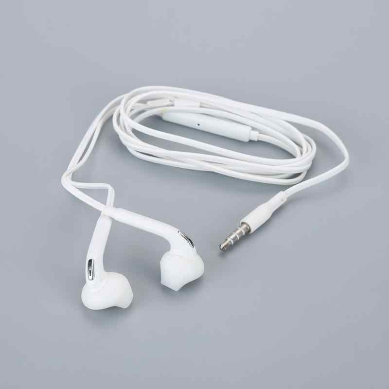 Fone de ouvido intra-auricular de 3.5mm, fones com fio duráveis, super graves e microfone para samsung galaxy s6