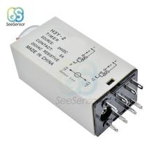 H3Y-2 AC 220 В DC 24 В таймер задержки Реле времени 0-30 минут/секунд PYF08A базовое гнездо