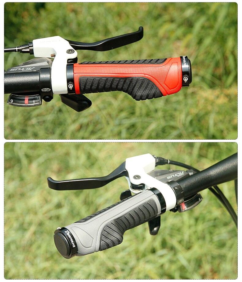 Mountain MTB Velo Bici Bike Bicycle Cycling Handlebar Bar Grips 131mm 22.2mm
