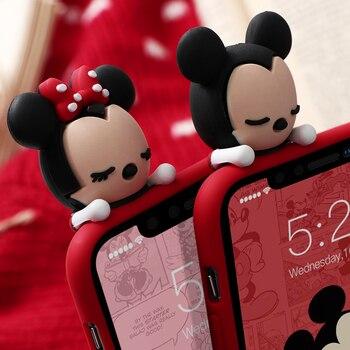 Matte Cartoon Case for iPhone SE (2020) 4
