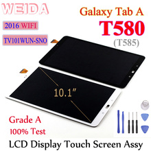 цена на Weida 10.1 For Samsung Tab A SM-T580 SM-T585 T580 LCD Display Touch Panel Digitizer Assembly Replacement  For SM-T580 Touch
