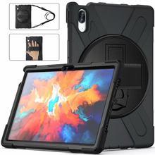 Para lenovo tab p11 p11 pro suporte rotativo tablet caso para lenovo tab p11 pro TB-J706F e p11 TB-J606F 2021 caso + filmgift