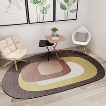 Современный Овальный ковер в скандинавском стиле для гостиной, большой геометрический Коврик и ковры для спальни, детский игровой коврик, напольный коврик для ванной комнаты, домашний Коврик для двери