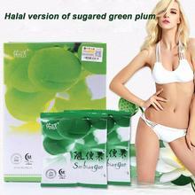 Четыре сезона красивый повседневный фруктовый Халяль версия из сладкой зеленой сливы Suibianguo потеря веса естественная диета жиросжигатель для похудения