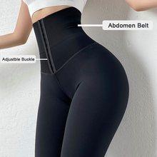 Twinso emagrecimento barriga trimmer cintura alta trainer esportes leggings calças femininas calças de fitness controle da barriga calcinha shapewear