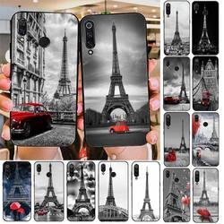 Черный, белый цвет Париж Эйфелева башня чехол для телефона чехол-накладка для Redmi note 8Pro 8T 6Pro 6A 9 Redmi 8 7 7A Примечание 5 5A note 7 Чехол для мобильного ...