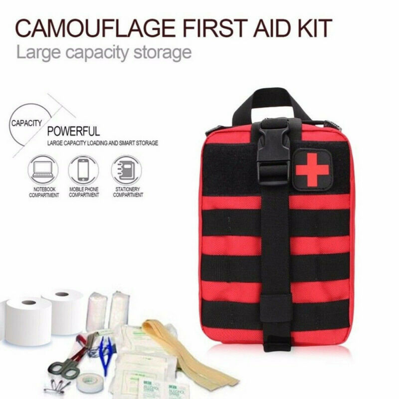First Aid Kit Tactical Medical Backpacks Molle EMT Outdoor Camping Adventure Emergency Survival Pouch Bags Medicine Bag