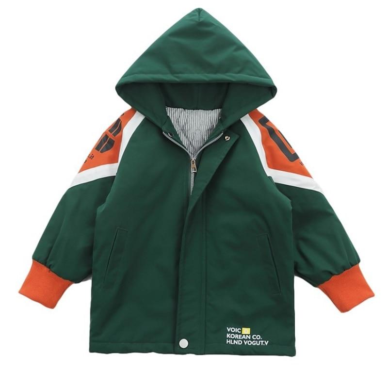 Осенне зимняя одежда для мальчиков пальто красивая детская среднего