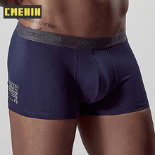 Boxer Male Shorts Underpants Comfortable Cotton Mens Pure AD304 Man Homme