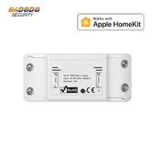 Akıllı tek röle anahtarı modülü ile uyumlu Apple HomeKit akıllı ev ışık kontrol