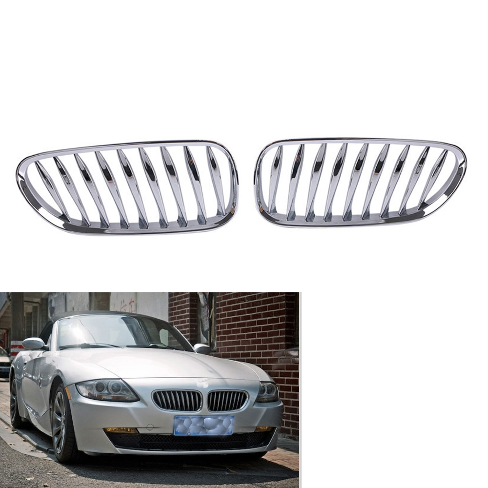 M COLOR METAL TYPE GLOSS BLACK  FOR BMW E85 E86 Z4 COUPE CABRIOLET FRONT GRILLE