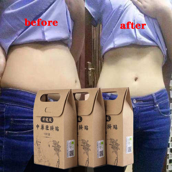 10pcs/Bag Chinese Medicine Slimming Diets Patch Weight Loss Strongest Slim Patch Pads Detox Adhesive Sheet Face Lift Tool