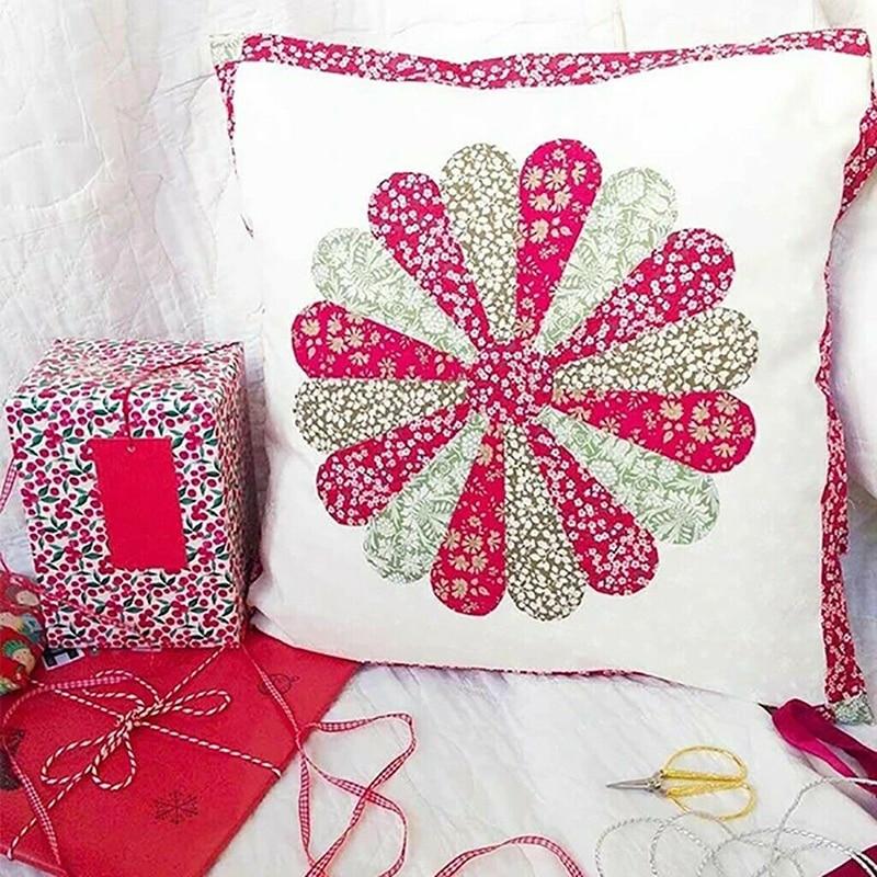 Grandmother Flower Garden Template Piecing Template Handcrafted Quilting Bags Blankets Pillows TOPCL DIY Patchwork,Piecing Template