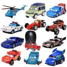 Nova disney pixar carros 3 relâmpago mcqueen mater jackson tempestade ramirez diecast liga de metal modelo de carro brinquedo presente para presentes de natal