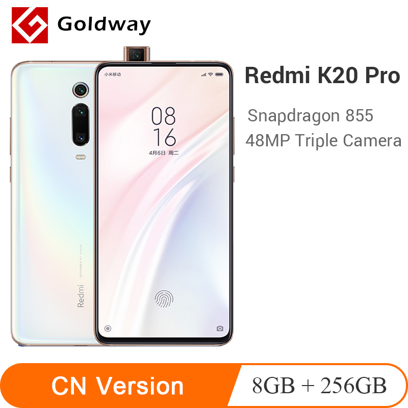 ROM globale Xiaomi Redmi K20 Pro 8GB 256GB Smartphone Snapdragon 855 Octa Core 48MP caméra arrière 4000mAh en reconnaissance d'écran