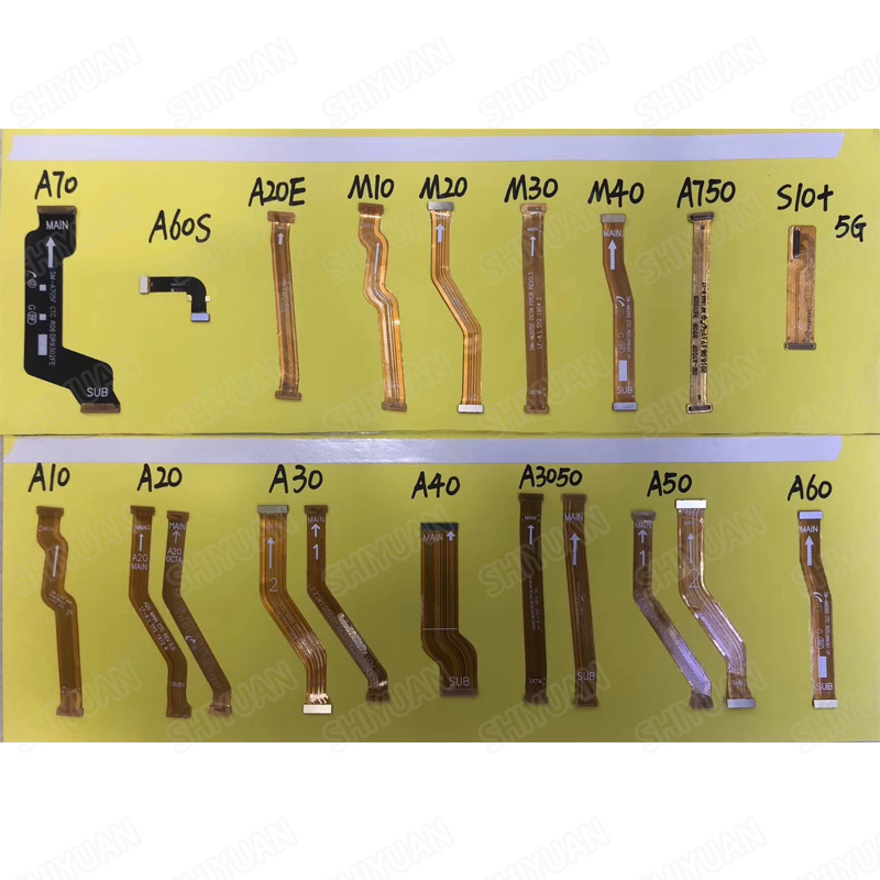 Motherboard Main Board Flex Cable For Samsung A10 A20 A30 A40 A50 A60 A60s A70 M10 M20 M30 M40 A20E  A105 A505 A705 M105