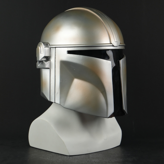Star Wars Helmet The Mandalorian Helmet Mask Hard PVC Cosplay Mandalorian Soldier Warrior Helmets Masks Adult Star Wars Prop 3