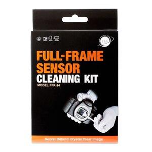 Image 2 - إيس كامل الإطار كاميرا الاستشعار تنظيف عدة FFR 24 مسحة مع نظافة لسوني نيكون كانون ف CCD CMOS تنظيف