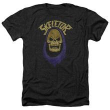 Masters of the Universe Skeletor Head HOOD Licensed Heather T-Shirt All Sizes(China)