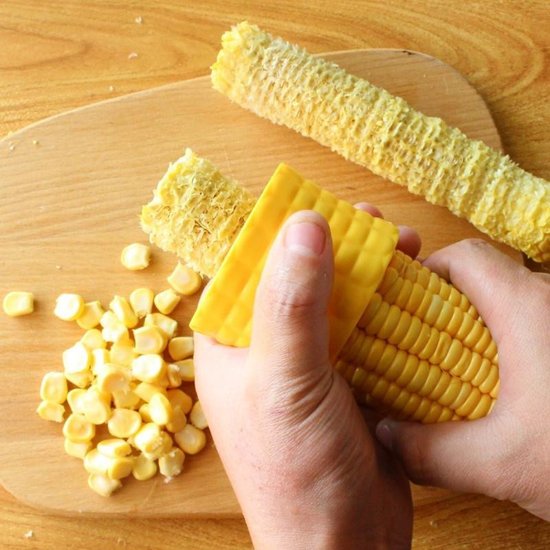 Yellow Creative Home Gadgets Corn Stripper Cob Cutter Remove Kitchen  Accessories Cooking Tools Cooking tools Kitchen Cob Remover Peelers &  Zesters  - AliExpress