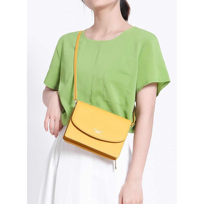 WEICHEN, nuevo diseñador, bolsos pequeños con solapa para mujer, 2020, bolso de hombro tipo bandolera para mujer, bolso de verano de cuero pu para mujer