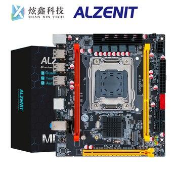 цена на ALZENIT X79I-CD2 Desktop Motherboard C202 H61 For Intel X79 LGA 2011 Xeon E5 Support DDR3 ECC REG 64GB With M.2 NVME NGFF USB2.0