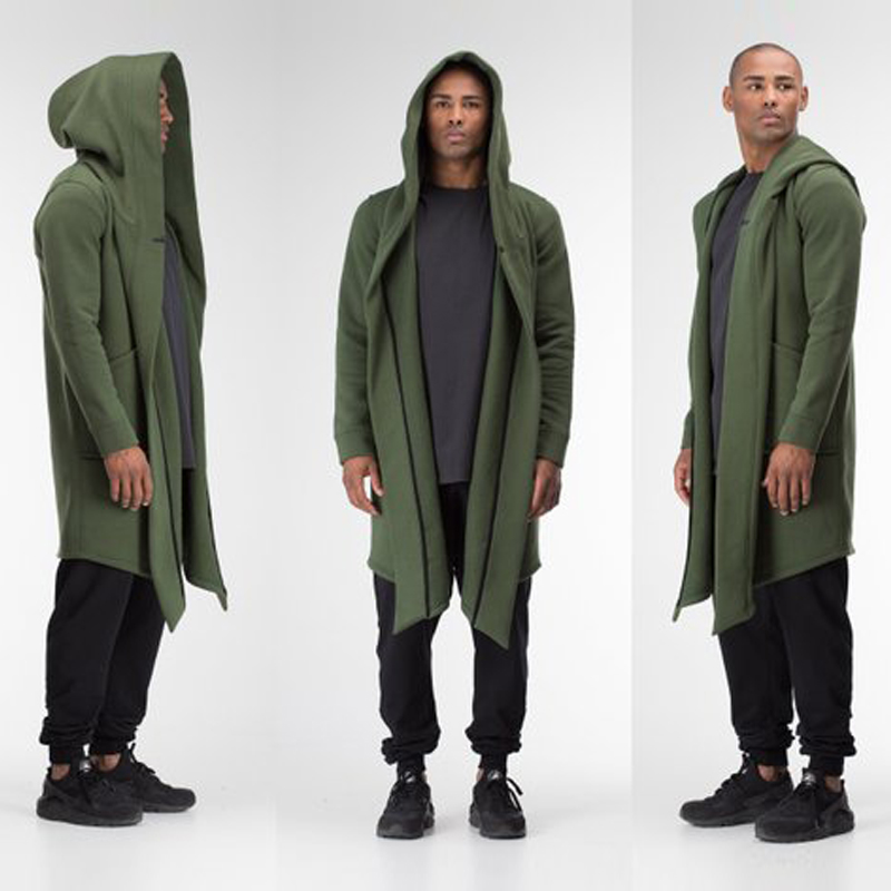 Hf9978c45c1c14dac812f6ab42852a99fa Women Men Long Coats Burning Man Warm Casual Fashion Solid Thick Cosplay Hooded Jacket Coat Outwear Plus Size