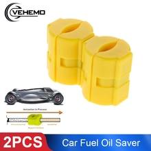Vehemo 2pcs автомобили топливный экономайзер устройство для экономии топлива Магнитный эффективный двигатель защита авто аксессуары Магнитный маслогенератор скутер