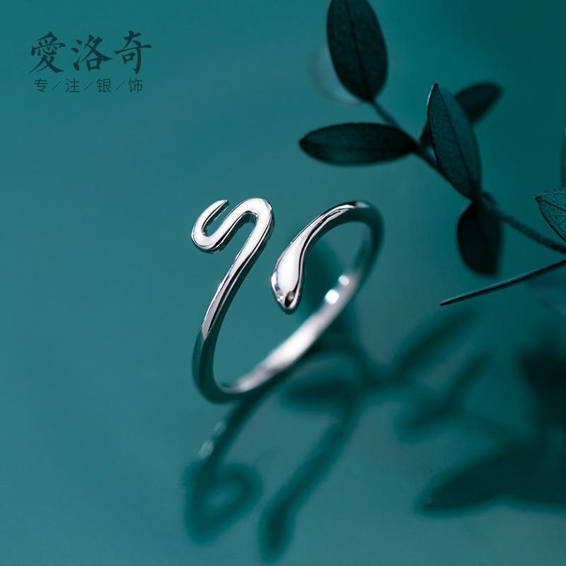Charm Snake Finger Ring For Women Men Vintage Boho Knuckle Party Rings Punk Jewelry Girls Gift 2