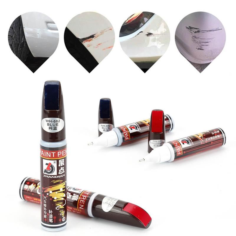 Car Accessories  1 X DIY Car Clear Fix Scratch Remover Touch Up Pen Auto Paint Repair Pens Car Scratch Remover Car Beauty TSLM1