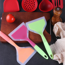 Kitchen-Tools Silicone Spatula Pancakes Cookware Non-Stick Wide-Turner Heat-Resistant