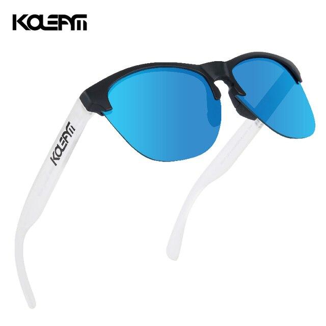 KDEAM Lifestyle Mens Sunglasses Polarized Driving Sun Glasses for Women TR90 Semi rimless Frame Ultra Light Shades