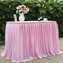 150*100 см Тюлевая юбка для стола, свадебная Подружка невесты, сестра, костюм-пачка, вечерние юбки для прямоугольных или круглых столов