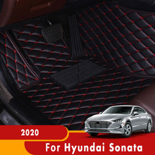 For Hyundai Sonata 2020 Car Floor Mats Auto Carpets Custom Protect Accessories Dash Rugs Waterproof Auto Parts Styling