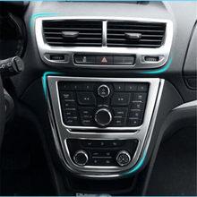 Caixa de armazenamento porta interior do carro guarnição adesivo porta braço buraco decoração apto para opel vauxhall mokka buick encore 2013 2014-2016