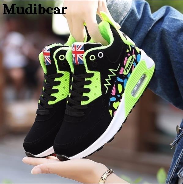 Фото зимняя обувь mudibear с высоким помолвочным круглым носком из цена
