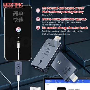 Qianli iDFU ללכת USB מהיר אתחול חפץ ללכת ישירות כדי DFU התאוששות מצב לא תכופים פעולה לא צריך כדי לשנות קו