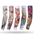 Running Arm Sleeves Plus Size Cycling Cuff Summer UV Sun Protection Game Sunscreen Sport Fishing Arm Cover Basketball Elbow Pad