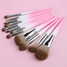 12 Pcs Makeup Brushes Set Beauty Tools Make Up Brush Sets Cosmetic Foundation Concealer Lip Eyebrow Eye Shadow Powder Brush Etc