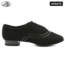 Мужские туфли для бальных танцев 309, танцевальные туфли для занятий и выступлений