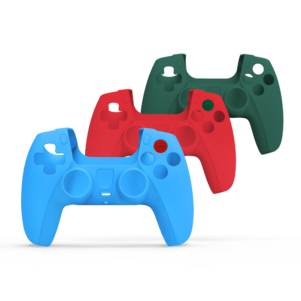 Silicone Shell For Sony Play Station Playstation PS 5 PS5 Controller Case Game Skin Gaming Accessories Control Gamepad Portable 1