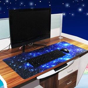 Сделай Сам большой игровой коврик для мыши звездное небо клавиатура настольный коврик ПК компьютер ноутбук игра коврик для мыши Коврик для ...