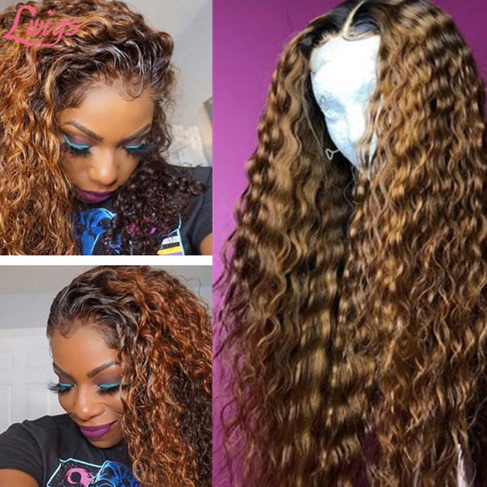 ombre_color_curly_wig