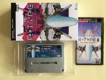 16Bitゲーム * * r型iii (日本NTSC Jバージョン!! ボックス + マニュアル + カートリッジ!!)