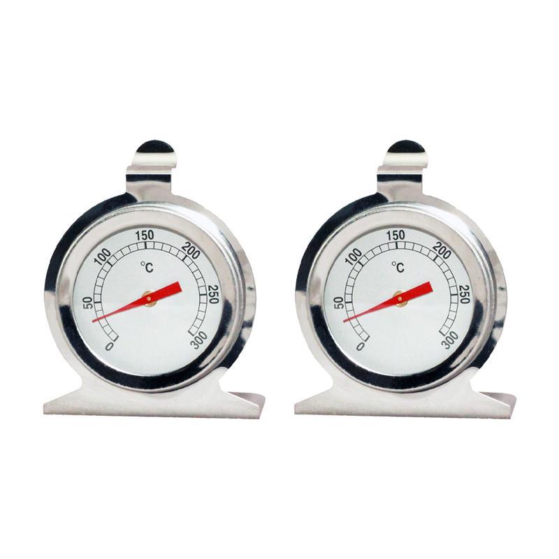 2 шт. крепкий и прочный премьер-шик термометр для духовки Термометр с круглой шкалой Пособия по кулинарии термометр