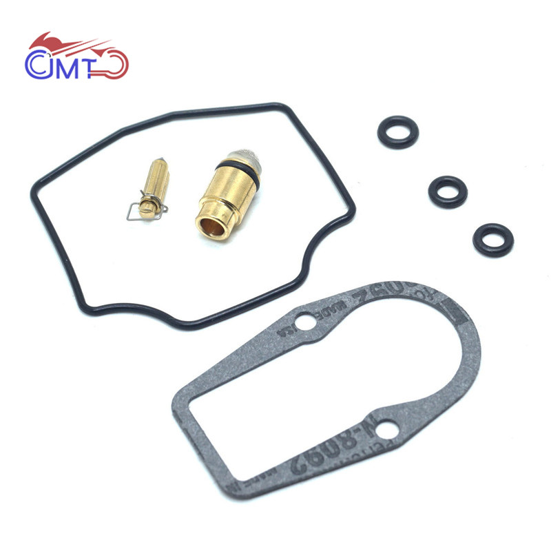 For <font><b>Yamaha</b></font> XT550 <font><b>XT600</b></font> TT600 Carburetor Carb Repair Kit Rebuild <font><b>Parts</b></font> Set Float Needle Valve Gasket O-rings XT 550 TT 600 image