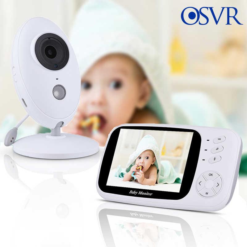 هاتف الطفل 3.5 بوصة الرقمية فيديو الصوت الموسيقى المحمولة الرضع كاميرا مربية رصد درجة الحرارة الاستشعار الداخلي مراقبة الطفل